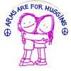 MG086 - Arms Are For Hugging - Magnet
