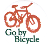 MG509 - Go By Bicycle - Magnet