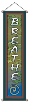 Breathe - Small Affirmation Banner