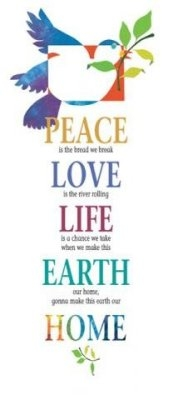 Peace Is... - Bookmark