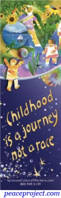 Childhood is a Journey Not a Race - Bookmark