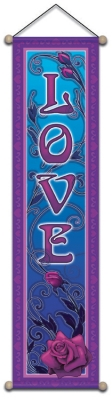 Love Rose - Small Affirmation Banner