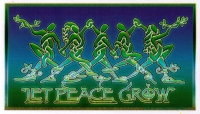Let Peace Grow - Window Sticker / Decal