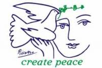 GM03 - Create Peace - Refrigerator Magnet