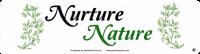 """Nurture Nature - Bumper Sticker / Decal (9"""" X 2.25"""")"""