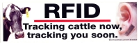 LS17 - RFID: Tracking Cattle Now, Tracking You Soon - Bumper Sticker / Decal