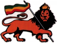 "Lion of Judah - Bumper Sticker / Decal (5"" X 4"")"