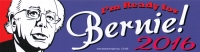 "I'm Ready for Bernie! 2016 - Bumper Sticker / Decal (10"" X 3.5"")"