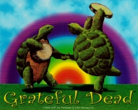 "Grateful Dead Dancing Terrapins - Bumper Sticker / Decal (5"" X 4"")"