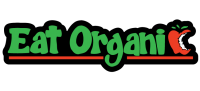 "Eat Organic - Bumper Sticker / Decal (10"" X 2.5"")"