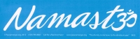 "Namaste - Bumper Sticker / Decal (10.5"" X 3"")"
