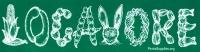 """Locavore - Bumper Sticker / Decal (11.25"""" X 3"""")"""