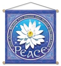 Lotus of Peace - Meditation Banner