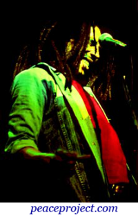 Bob Marley - Jammin - Postcard