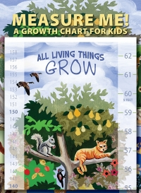 "Measure Me! - A Growth Chart for Kids - Poster (Goes from 2' to 5'2"")"