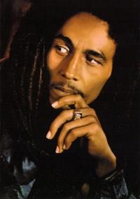 Bob Marley - Face - Postcard