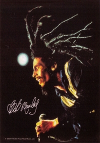 Bob Marley - Dreads - Postcards