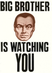 pc20 - Big Brother Is Watching You - Postcard