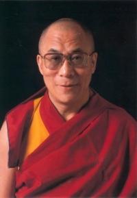 The Dalai Lama - Postcard