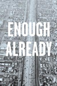 Enough Already - Postcard