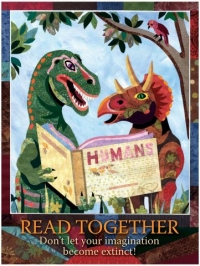 Read Together - Postcard