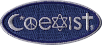 PS53 Coexist - Patch