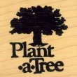 Plant a Tree - Rubber Stamp