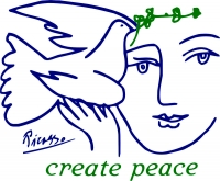 Create Peace (On White) - T-Shirt