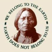 We Belong To The Earth, Earth Does Not Belong To Us (On Natural) - T-Shirt