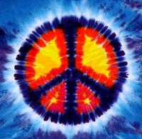 Peace Sign - Tie Dye T-Shirt