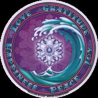 Healing Water Window Sticker / Decal