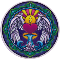 Loving Heart - Window Sticker