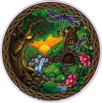 Enchanted Forest - Window Stickers / Decal