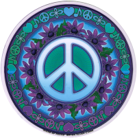 WA050 - Signs of Peace - Window Sticker
