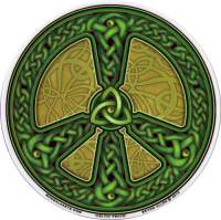 Celtic Peace - Window Sticker