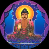 Buddha Light - Window Sticker / Decal