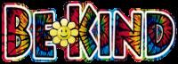 "Tie Dye Be Kind - Window Sticker / Decal (6.5"" X 2.25"")"