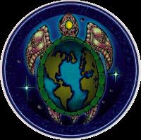 Turtle Island - Window Sticker