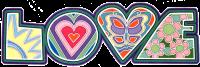 WA198 - Love - Window Sticker
