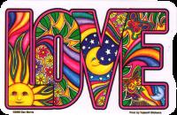 WA235 - Dan Morris Love Window Sticker