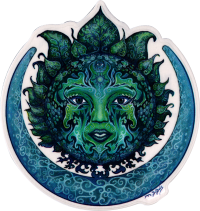 WA401 Green Goddess - Window Sticker