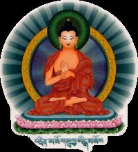 WA408 Teaching Buddha - Window Sticker