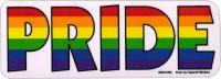 "Pride - Window Sticker / Decal (6"" X 2.25"")"
