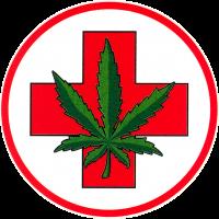 Medical Marijuana - Window Sticker