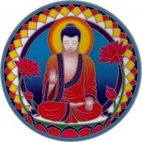 "Buddha Nature - Window Sticker / Decal (5.5"" Circular)"