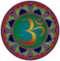 "Cosmic Ohm - Window Sticker / Decal (5.5"" Circular)"