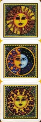 "3 Suns - Window Sticker / Decal (3 at 2"" X 2"" each)"