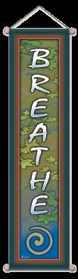 Breathe - Large Affirmation Banner