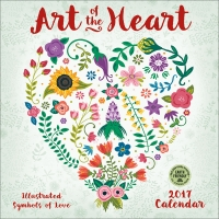 Art of the Heart - 2017 Wall Calendar