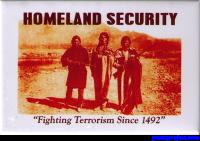 Homeland Security - Rectangular Magnet